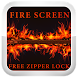 Fire Screen Free Zipper Lock by AppsCanyon