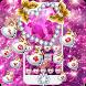 Pink Diamond Shining Theme by Cool Theme Love