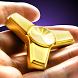 Golden fidget hand spinner by Golden factory rabbits