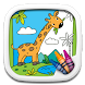 Zoo Animal Coloring Pages by Coloring Corner