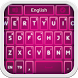 Keyboard Pink Glow by BestThemes