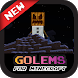 Golem Mod for MCPE by prattrick game tip