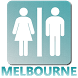 Restrooms in Melbourne by wpetit