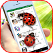 Ladybug on Screen - Funny App with Cute Gifs