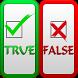 Trivia Quiz - True False by YoubelDev