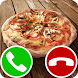fake call pizza by TenAppsAndGames