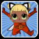 ninja dolls surprise : jungle game for super lol by Otmane Douimi