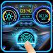 Racing Car Dashboard Fingerprint Locker Prank by Weather Widget Theme Dev Team