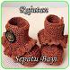 Crochet Baby Boots by DestaStudio
