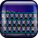 Neon Blue Keyboard by Monte Prestigio Inc