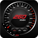 Digital GPS Speedometer-Odometer Offline HUD View by Vital apps studio