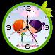 Couple clock live wallpaper