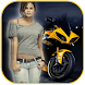 Racing Bike Photo Frame by Selfie Photo Collage Maker