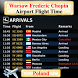 Warsaw Chopin Airport Flight Time