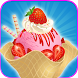 Ice Cream Maker Frozen Dessert by Kids Cat Studio