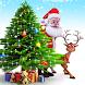 Christmas Santa & Tree by rocketappzstudio