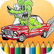 cars coloring book colors kids by Gmoro