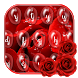 Rose Dewdrop Keyboard Theme by cool wallpaper