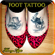 Women's Foot Tattoo Design by Honey-Apps