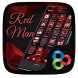 Red Man Go Launcher Theme by Freedom Design