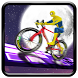 Superhero Sky Track Bicycle Impossible Stunt Race by wetited