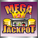 Mega Jackpot Slot Machine by EZLearnApps.com