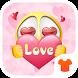 Emoji Theme - Pink Emoji Theme for Android FREE