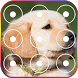 Cute Puppy Zipper Lock Screen★ by Certified apps4u lab