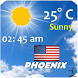 Phoenix, Arizona Weather by Smart Apps Android