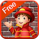 Fireman Games for Kids Free by Brain Candy
