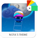 Blue Moon Xperia Theme by Nota Dao