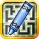 Crayon Maze (Ad-Free) by Dave Bollinger