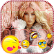 Funny Photo Emoji Keyboard by Girls Fashion Apps