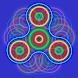 Fidget Spinner - Neon Lights