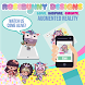 Rosebunny Designs Augmented Reality by Mary Llanes Brijlall
