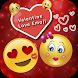 Valentine Love Emojis by Tools Mixer