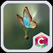 Golden Butterfly Theme by Pop Locker Team - Hide Secret App