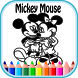 Mickey Coloring Book by DevMarc