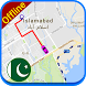 PK Offline Navigation Map: Driving Route by World Live Earth Map Studio