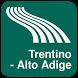 Trentino - Alto Adige Map by iniCall.com