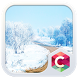 Winter Road CLauncher Theme by CG-Live-Wallpapers