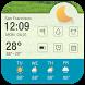 Calendar alarm clock weather by HD Widgets Dev Team