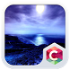 Blue Moon CLauncher Theme by CG-Live-Wallpapers
