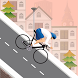 Downhill Cycle Riders - Free by Janaki