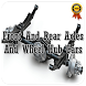 Front And Rear Axles And Wheel Hub Cars by adeevastudio