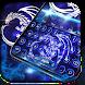 Neon bluefire basilisk dragon typewriter theme