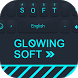Glowing Soft Theme&Emoji Keyboard