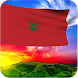 3D Morocco Flag Wallpaper by lamxung822