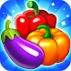 Vegetable Carnival by Fruit Candy Bubble Puzzles