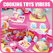 Cooking Toys Kids Videos by Rizkids